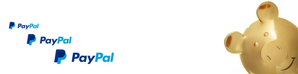PayPal - Pagamento - PayPal logo - salvadanaio